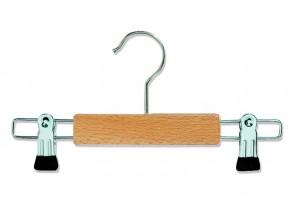 blank beukenhout knijperhanger voor kinderen lengte 26 cm dikte 12 mm