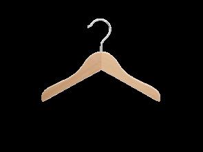 platte hanger  blank beukenhout lengte 25 cm, dikte 10 mm