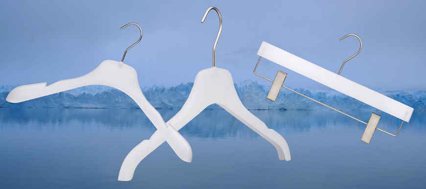 Frosted Hangers